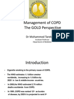 COPD GOLD by Dr T Alam