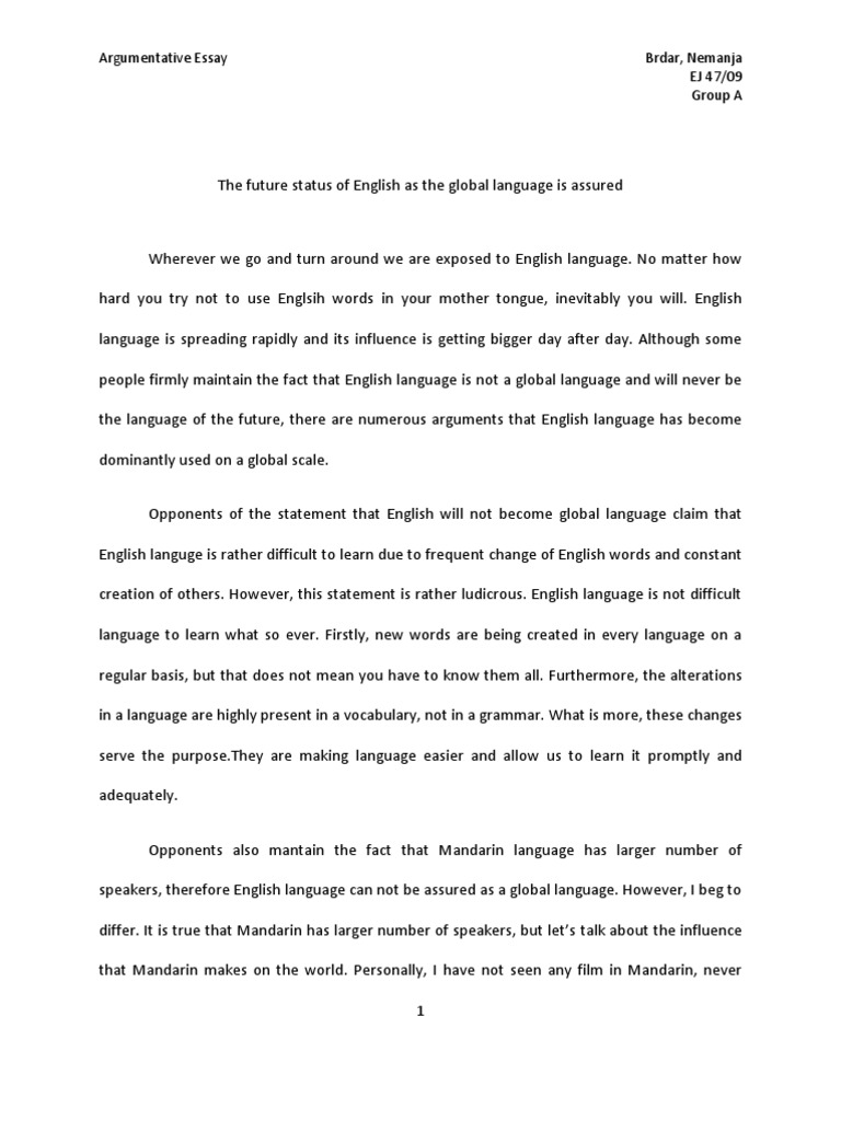 Example Of Persuasive Essay Essay English As A Global Language Sample College Essays That The  Conversation Essay On Everyday Use also The Teacher Essay Research  Essay Homework Helping First Rate Essay Writing  First Person Essay