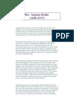 Auguste Rodin Biography