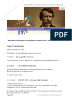 Imperial Obsessions Conference Programme