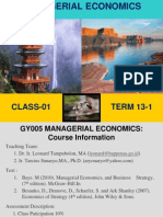 Managerial Economics Chapter 1 the McGraw-Hill