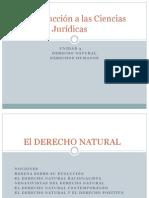 Introducción a las Ciencias Jurídicas,,