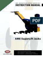 SLJ Super Lift Jack Manual
