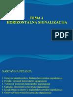 T-4-HORIZONTALNA SIGNALIZACIJA
