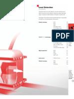Sensores Capacitivos - Detecção de Nível