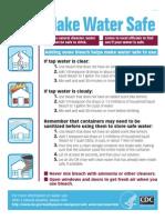 Make water safe