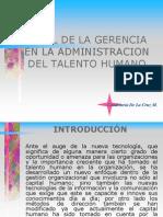 1-La Gcia y El Papel Del Recurso Humano-presion Del Contexto Nacional e Internacional