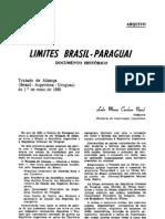 Limites Brasil-Paraguai GTA