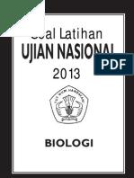 Soal Latihan UN SMA 2013 - Biologi