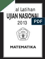 Soal Latihan UN SMA 2013 - Matematika