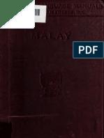 Malay Manual