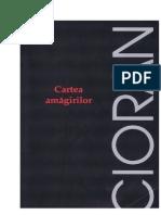 Emil Cioran Cartea Amagirilor Doc