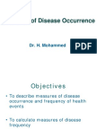 Measures of Disease Occurrence Handouts 1
