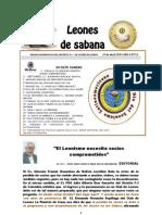 BOLETIN LEONES DE SABANA 1º de abril, año 1  nº 15