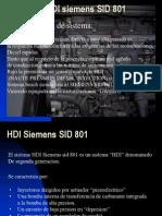 Sistema HDI Siemens SID 801