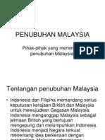 Penentangan Terhadap Penubuhan Malaysia