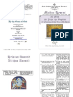 Festal Matins - 2013 - 25 May - John Baptist - 3rd Finding