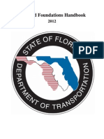 Soils an Foundation Handbook State of Florida 2012 204p
