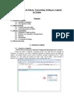 tutorial básico de edição, typesetting, styling no aegisub