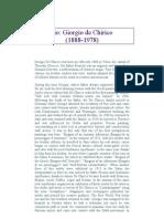 Giorgio de Chirico Biography