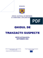Ghid Tranzactii Suspecte Romana