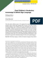 mann  marshall 2011investigating deaf childrens vocabulary
