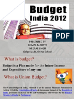 Budget 2012-13