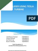 para glider using tesla turbine