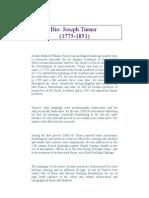 Joseph Turner Biography