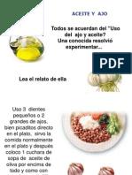 Ajo+Aceite de Oliva= 20 Kilos Menos (Prenderaudio)