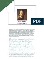 Rembrandt Van Rijn Biography