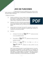Estudio de Las Funciones Calculo