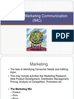 IMC, Integrated Marketing Communication