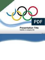 Apresentação power point Anéis Olímpicos