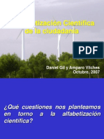 Alfabetizacion Cientifica 2007