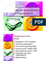 2006 07 05 Competence Development in Organisations June 2006.Ppt
