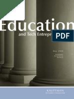 Education and Tech Entrepreneurship