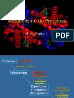 Metabolismo de las Proteínas