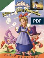 Alice in Tara Minunilor - Carte de Citit Si de Colorat