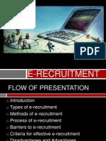 e Recruitment