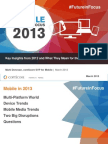 Comscore research report on State of Mobile Marketing in 2013