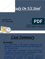 MIS Presentation on US Steel