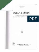 E. Jafrancesco - PARLA E SCRIVI 1 - La Lingua Italiana Come L2 a Livello Elementare e Avanzato