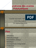 Syndrome Des Ovaires Polycystiques