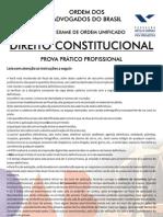 VII Exame Constitucional - Segunda Fase