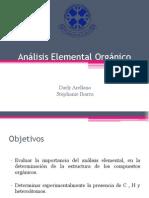 01 - Análisis Elemental Orgánico