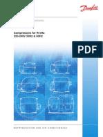 Danfoss Sprezarki R-134 Katalog