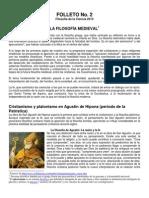 FOLLETO 2 Filosofia Medieval PDF