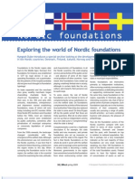 Exploring the world of Nordic foundations