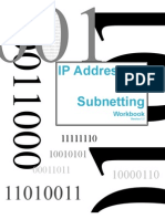 Addressing Subnet t Wb Work Book
